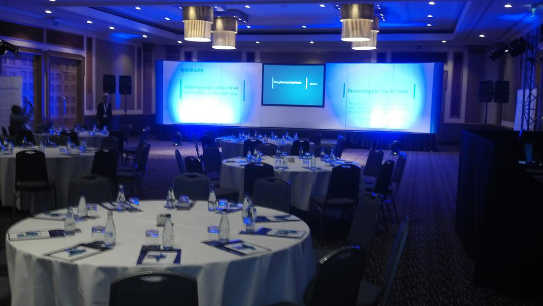 Conference-audio-visual-lighting